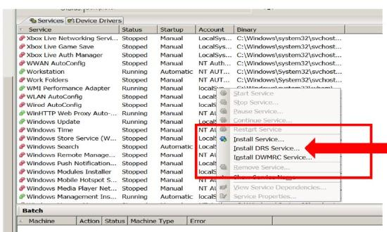 Dameware Remote Support Service not installed