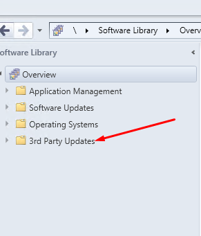 Third party packages do not display in the SCCM Console