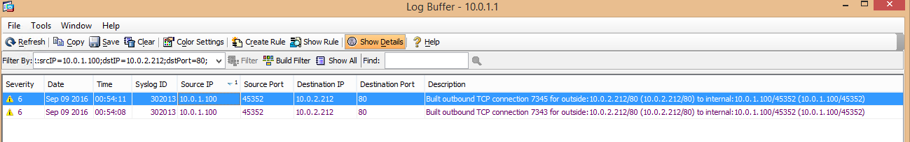 NetPath graph issue: Nodes are missing between a Cisco ASA
