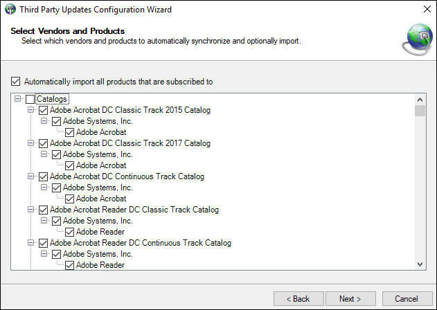 Add Adobe Acrobat Reader DC Packages
