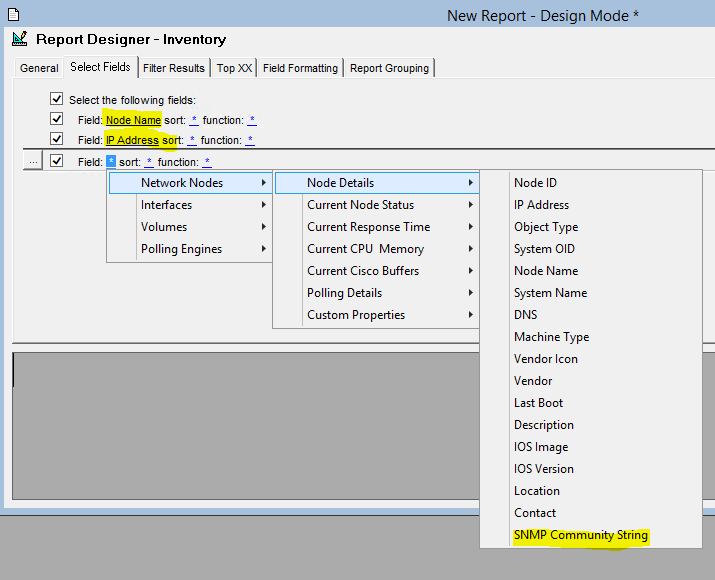How To Generate A Report On Snmp Community Strings