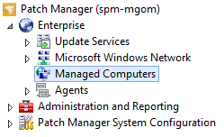 Remove a managed computer from the Patch Manager Admin Console