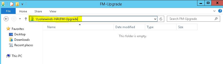 Firmware Upgrade storage unable to obtain read-write access to