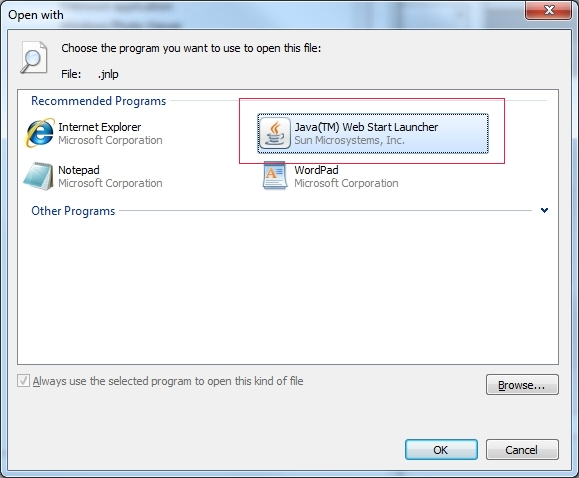 FTP Voyager JV fails to launch after a Java Runtime Environment update