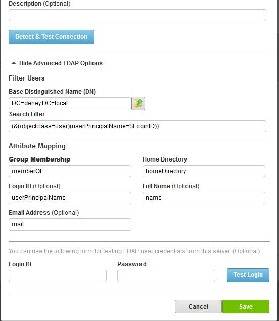 Understanding LDAP Authentication in Serv-U
