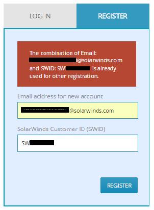 Obtain <b>login</b> credentials for Customer Portal - <b>SolarWinds</b>